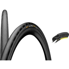 "Continental Ultra Sport II - Cubierta - Performance 28"" plegable amarillo/negro"